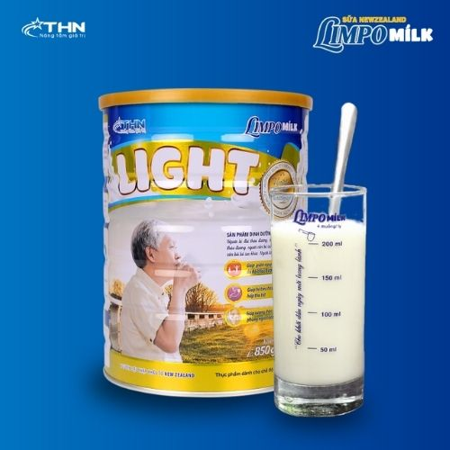 Limpo Milk Light Sua Dinh Duong Cho Nguoi Tieu Duong Xuong Khop